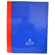 CARPETA CON ELASTICO 1/4W. GOYA COLOR