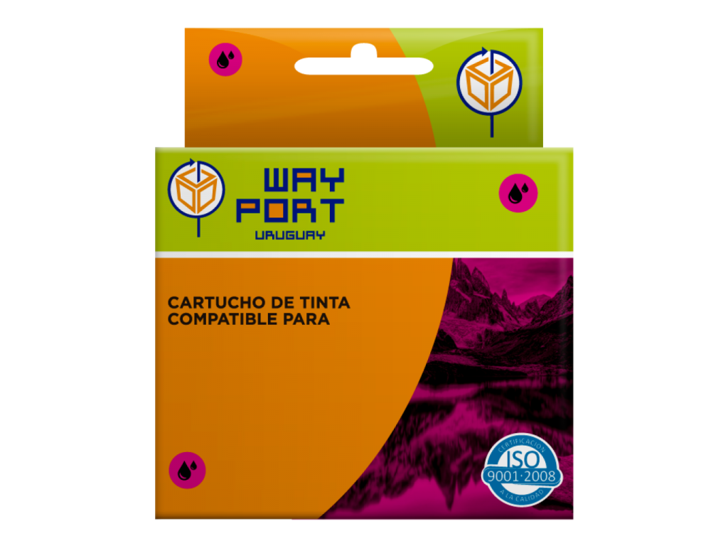 CARTUCHO COMPATIBLE 196 MAGENTA
