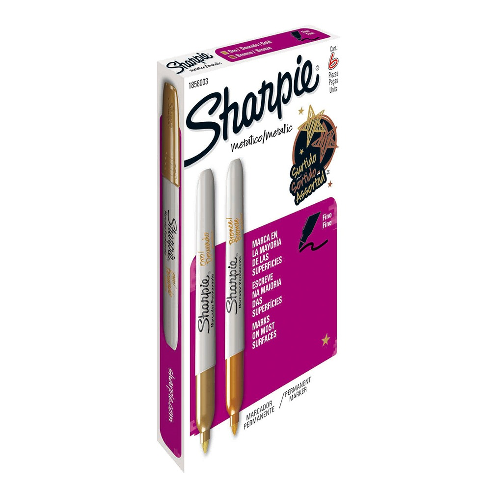 MARCADOR PERMANENTE SHARPIE METALICO
