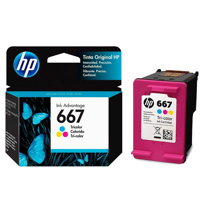 CARTUCHO HP 667 COLOR